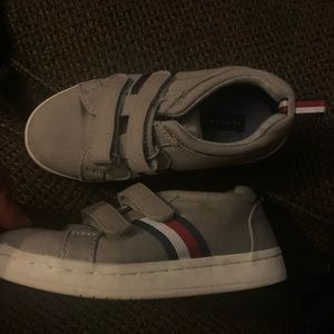 Boys size 10 used Tommy Hilfiger shoes
